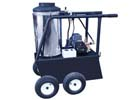Q Frame Oil Fired Hot Water Pressure Washers