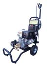 Cold Water Gas Powered Cart Mounted Pressure Washers