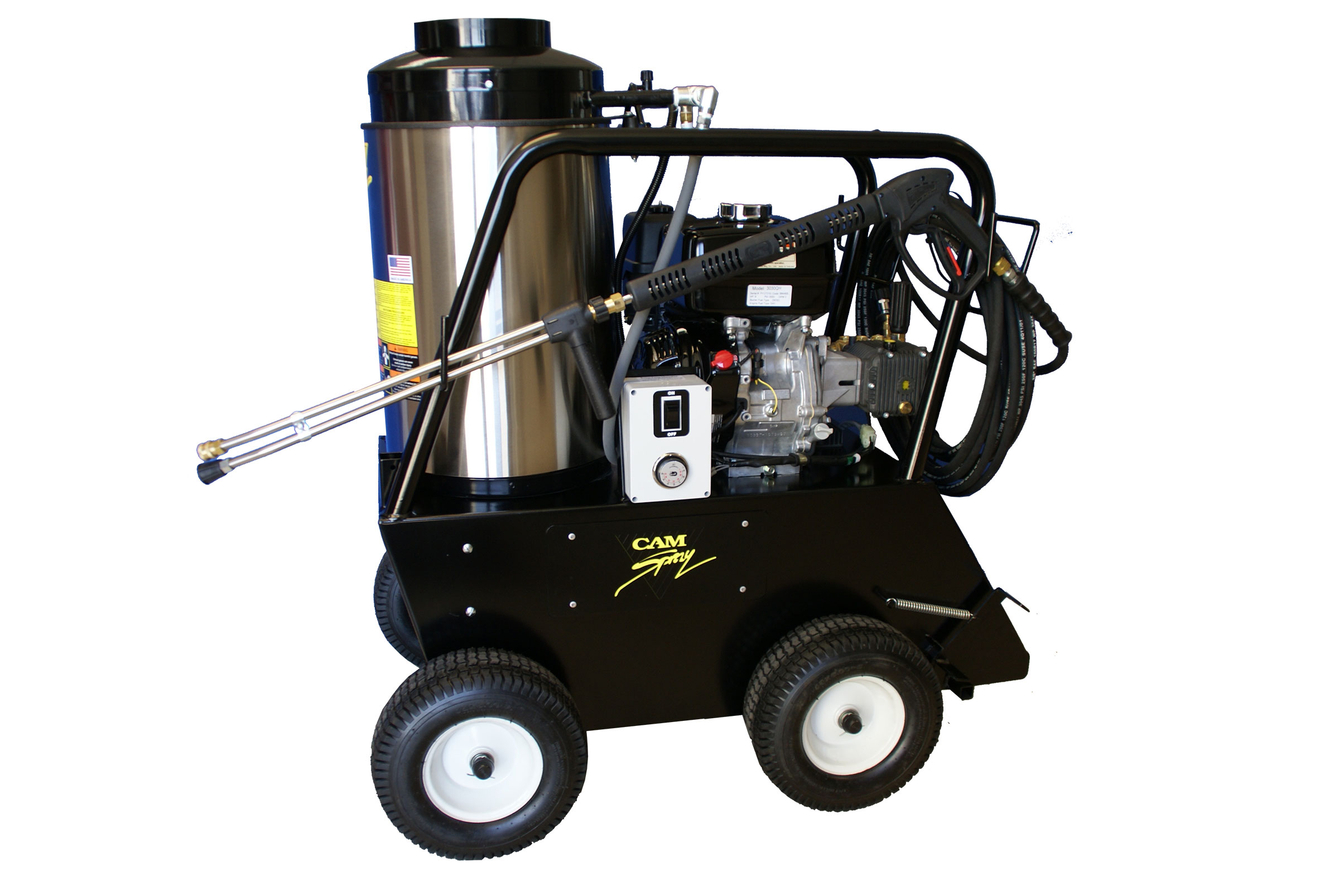 Portable Gas Powered Hot Water Pressure Washers Diesel