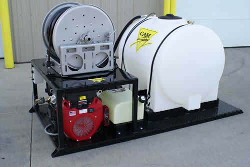 Skid Mounted Drain Jetter Van Mounted Sewer Jetters