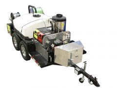Cam Spray Trailer Mounted Hot Water Sewer and Drain Jetter