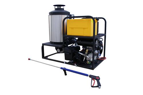 Skid Mount Pressure Washer 5 5 Gpm 5000 Psi Cam Spray