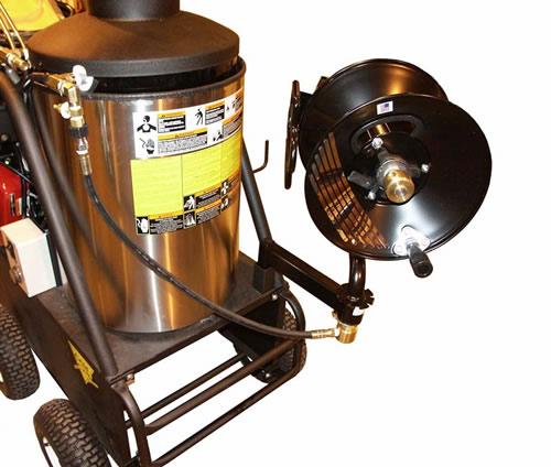 200 Ft Hose Reel For Pressure Washer Swivel Hose Reel Cam Spray