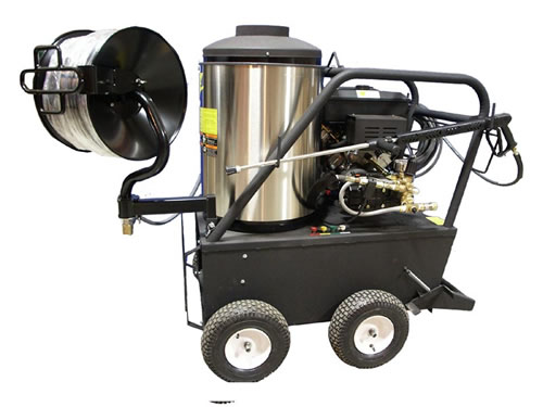 Portable Gas Powered 3 gpm, 2000 psi Hot Water Sewer and Drain Jetter | CS2030QB.3