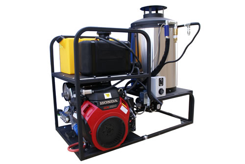 Skid Mount Diesel Heated Hot Water Pressure Washers Cam