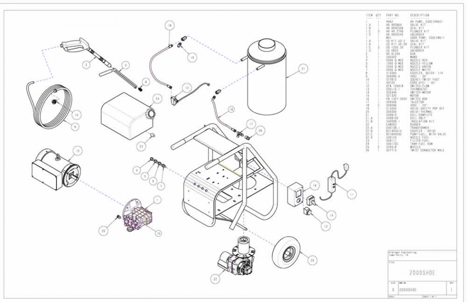 Old Hot Water Pressure Washer Wiring Diagrams