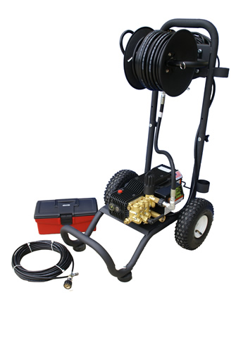 Portable Electric Powered 2 gpm, 1450 psi Cold Water Sewer and Drain Jetter | CS1500A.2