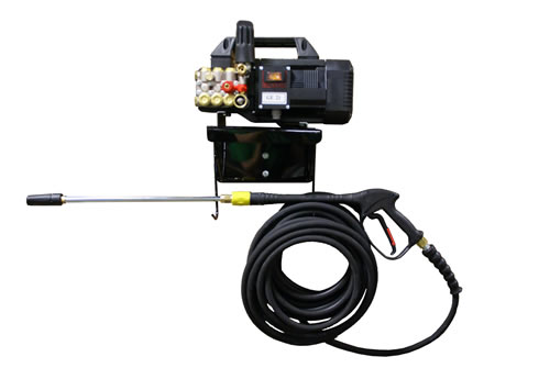 Economy Wall Mount Electric Powered 2 gpm, 1450 psi Cold Water Pressure Washer | 1500AEWM