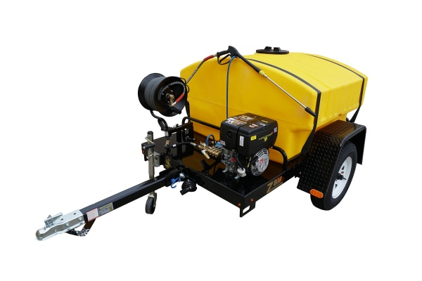 Diesel powered cold water pressure washer