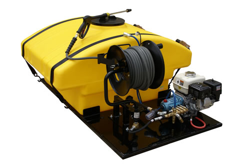 Trailer Amp Skid Mounted Gas Powered Pressure Washers Cam