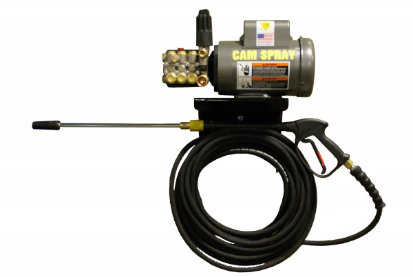 Economy Wall Mount Electric Powered 2.5 gpm, 2700 psi Cold Water Pressure Washer