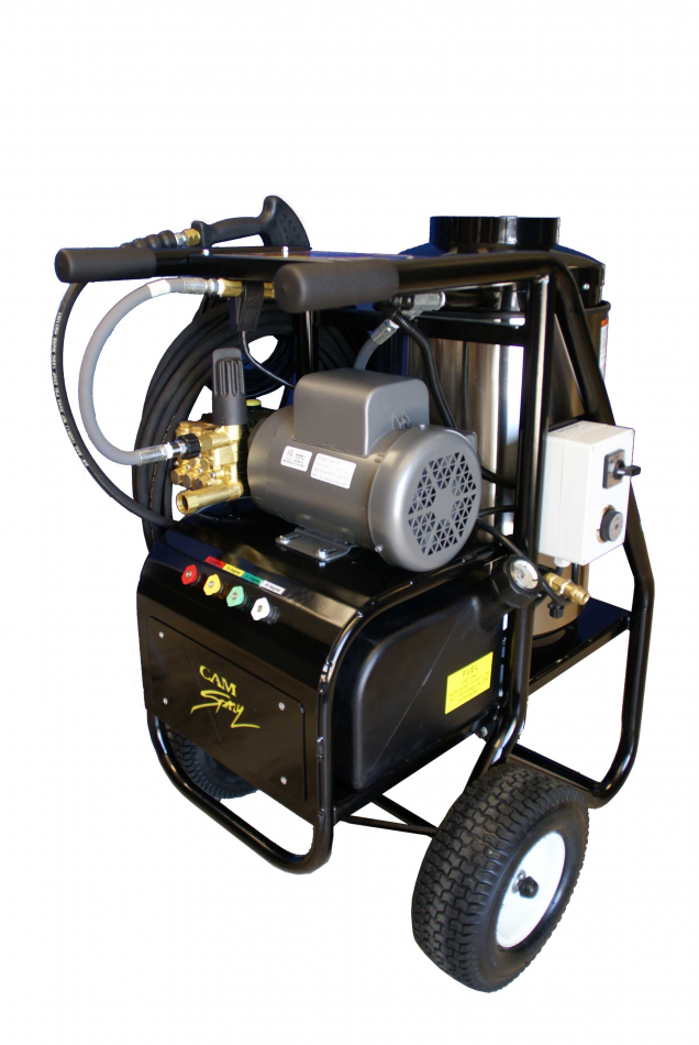 Portable Diesel Fired Electric Powered 3 gpm, 2000 psi Hot Water Pressure Washer | 20005SHDE