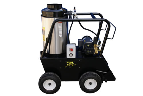 Portable Diesel Fired Electric Powered 2.5 gpm, 2700 psi Hot Water Pressure Washer